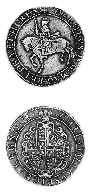 Charles I, group 3b, Crown, To