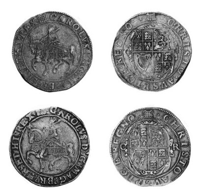Charles I, type 2c, Halfcrowns