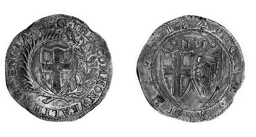 Commonwealth (1649-60), Halfcr