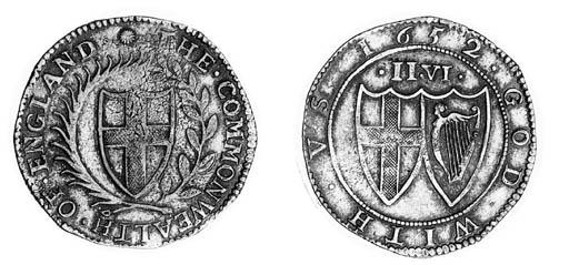 Commonwealth, Halfcrown, 1652,