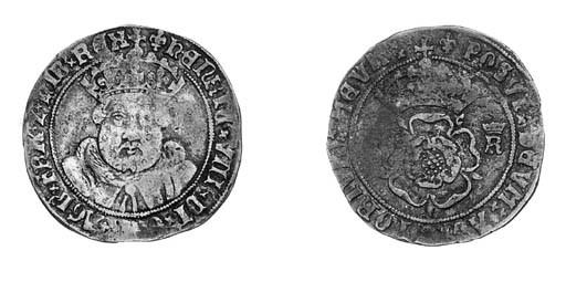 Henry VIII (1509-47), third co
