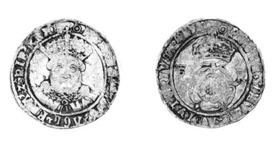 Henry VIII, third coinage, Tes