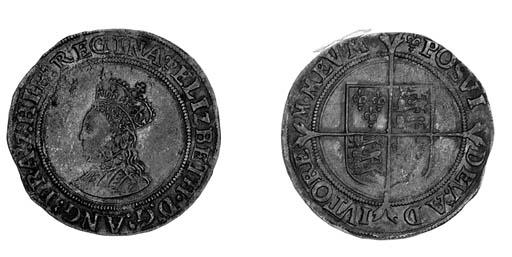 Elizabeth I, first issue, Shil