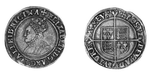 Elizabeth I, second issue, Shi