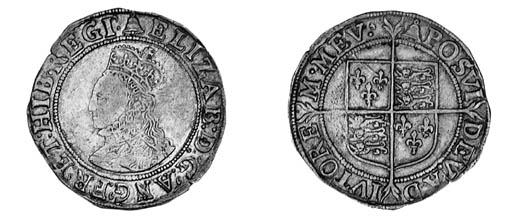 Elizabeth I, fifth issue, Shil