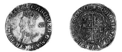 Charles I,Tower, Shilling, gro
