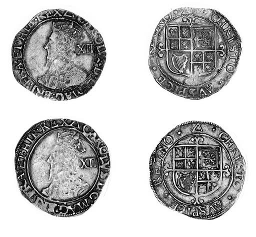 Charles I, Tower, Shillings (2