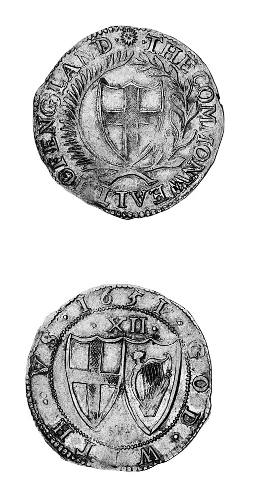 Commonwealth, Shilling, 1651,