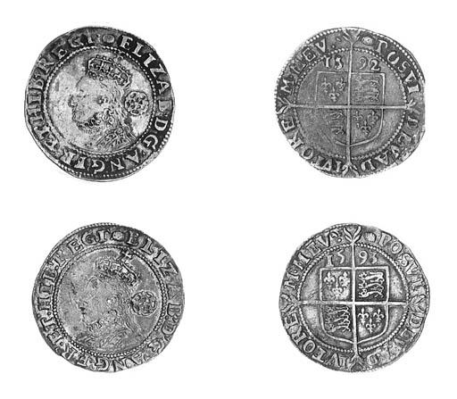 Elizabeth I, Sixpences (2), fi