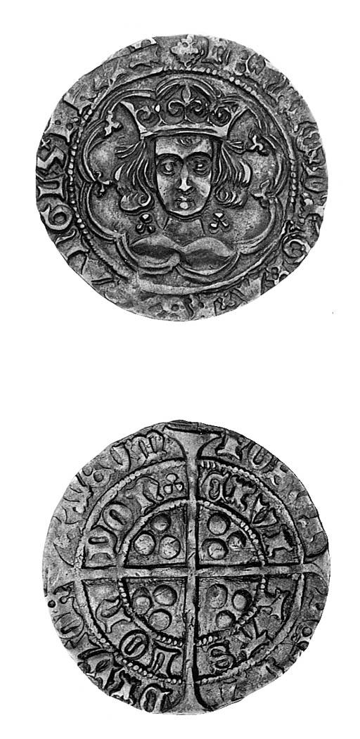 Henry VI, leaf-trefoil issue,