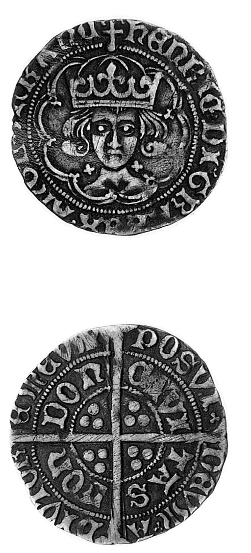 Henry VII, Groat, class II, no