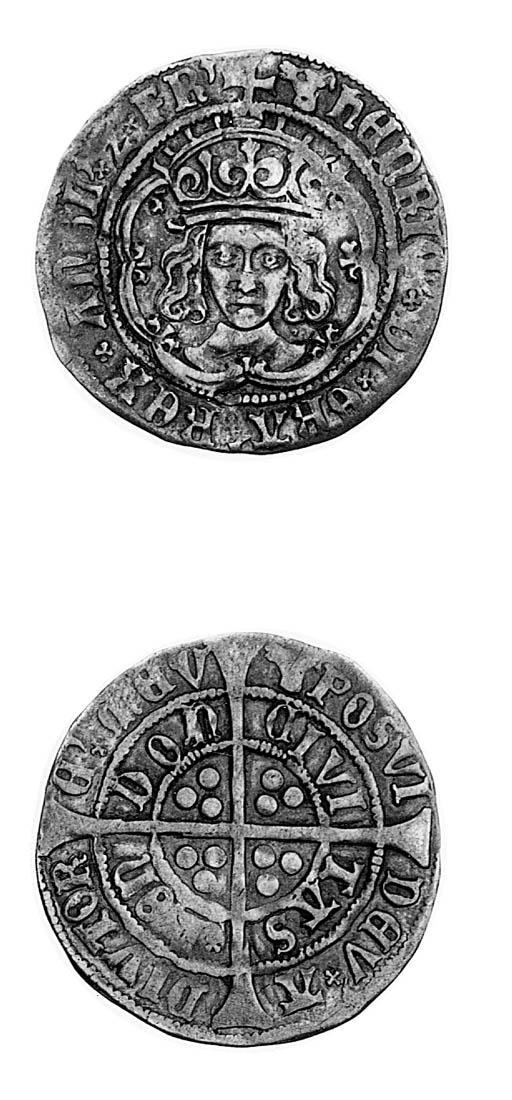 Henry VII, Groat, class IVb, m