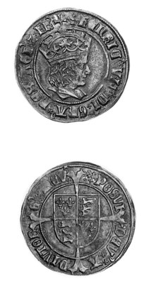Henry VII, Groat, regular issu