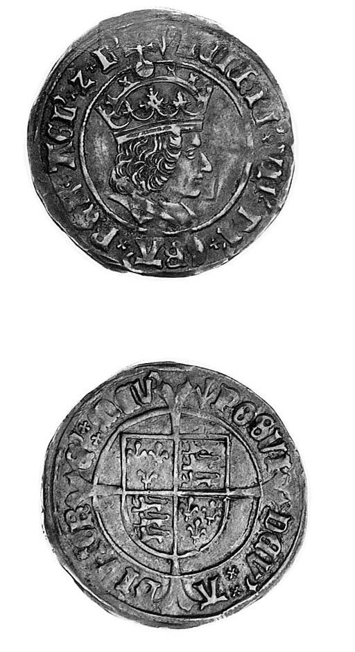 Henry VII, Groat, regular issu