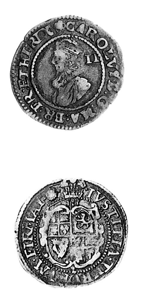 Charles I, group B, Halfgroat,