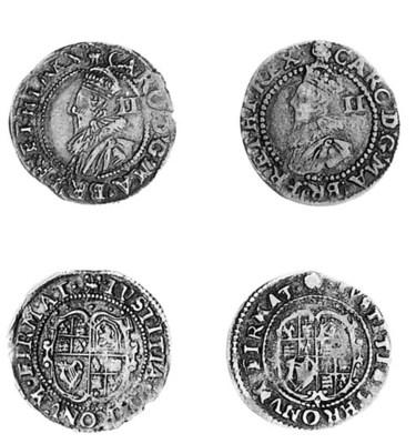 Charles I, group C, Halfgroats