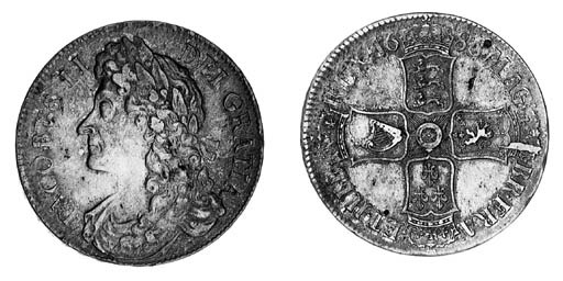 James II, Crown, 1686, first l