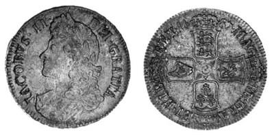 James II, Crown, 1687, second