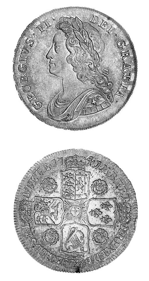 George II, Halfcrown, 1741, 41