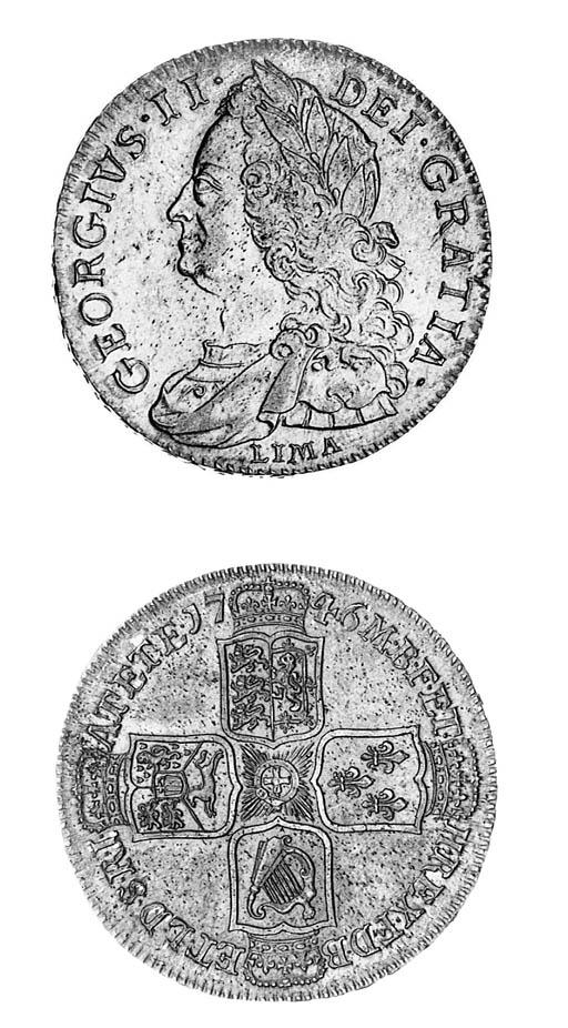 George II, Halfcrown, 1746 LIM