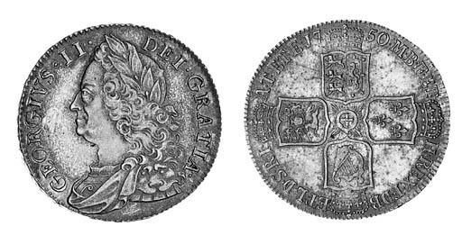 George II, Halfcrown, 1750, si