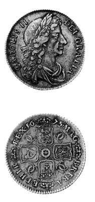 Charles II, Shilling, 1675, 5
