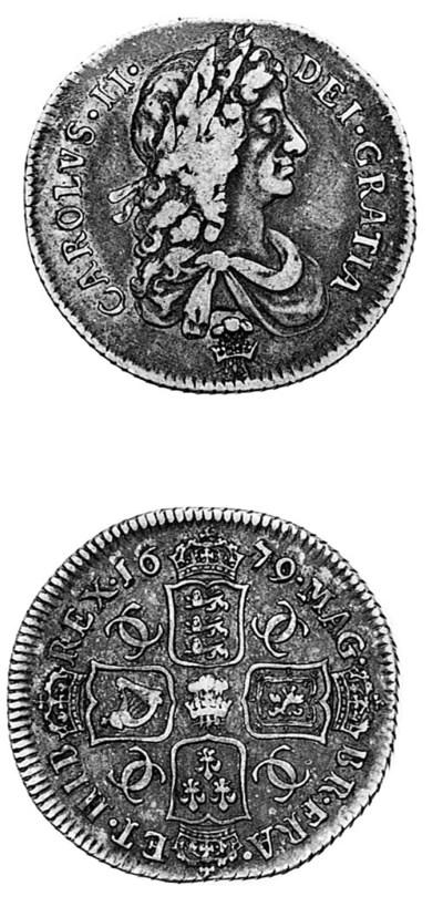 Charles II, Shilling, 1679, si