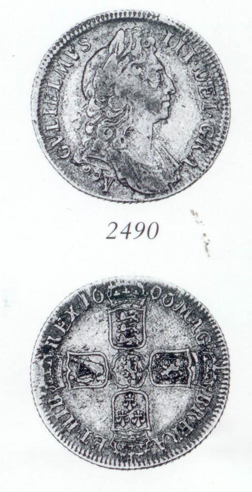 William III, Shilling, 1696Y,