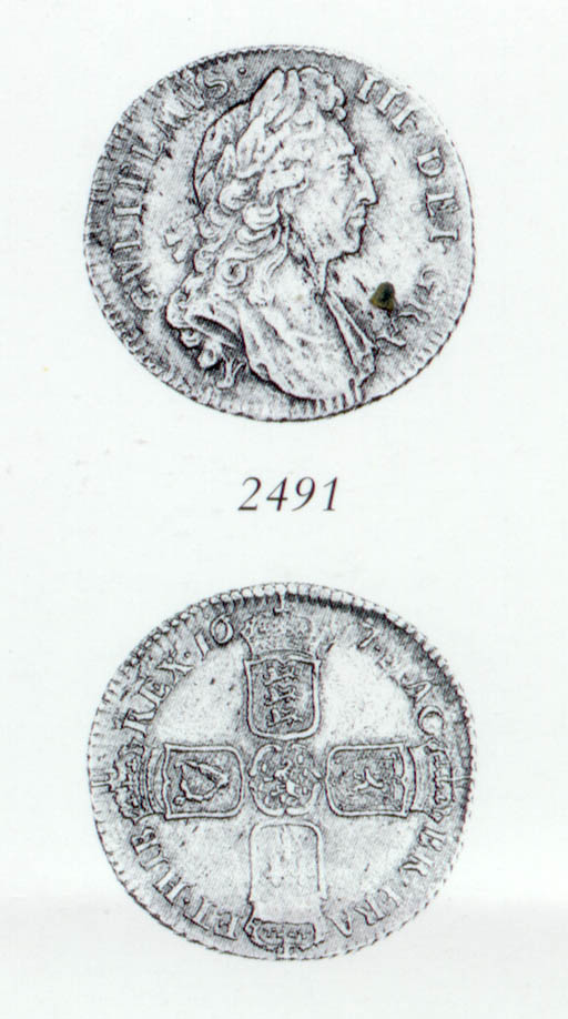 William III, Shilling, 1697Y,