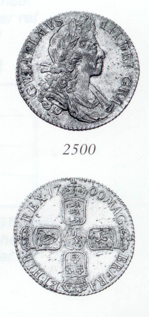 William III, Shilling, 1700, s