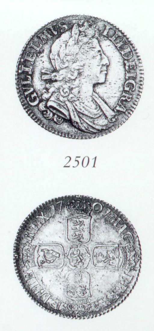 William III, Shilling, 1701, s