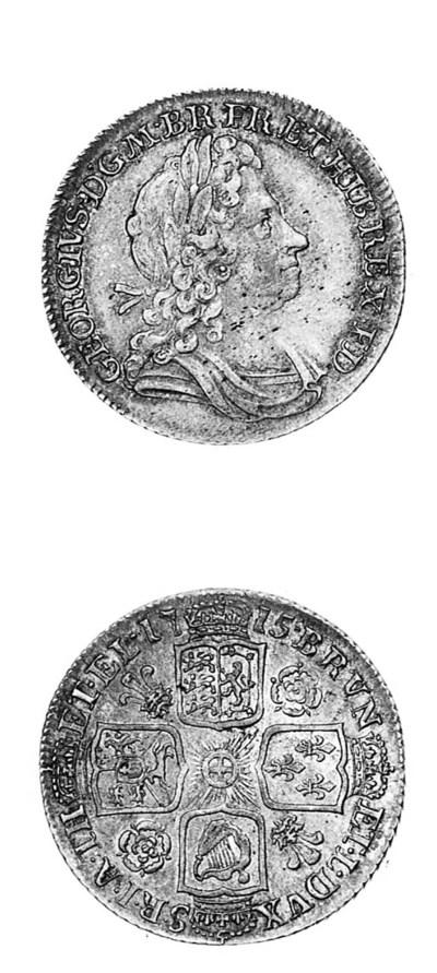 George I, Shilling, 1715, firs
