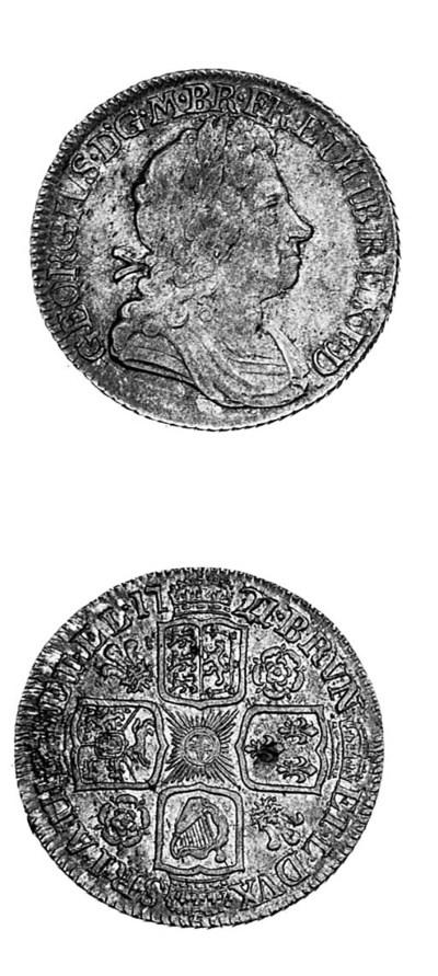 George I, Shilling, 1721, 21 o