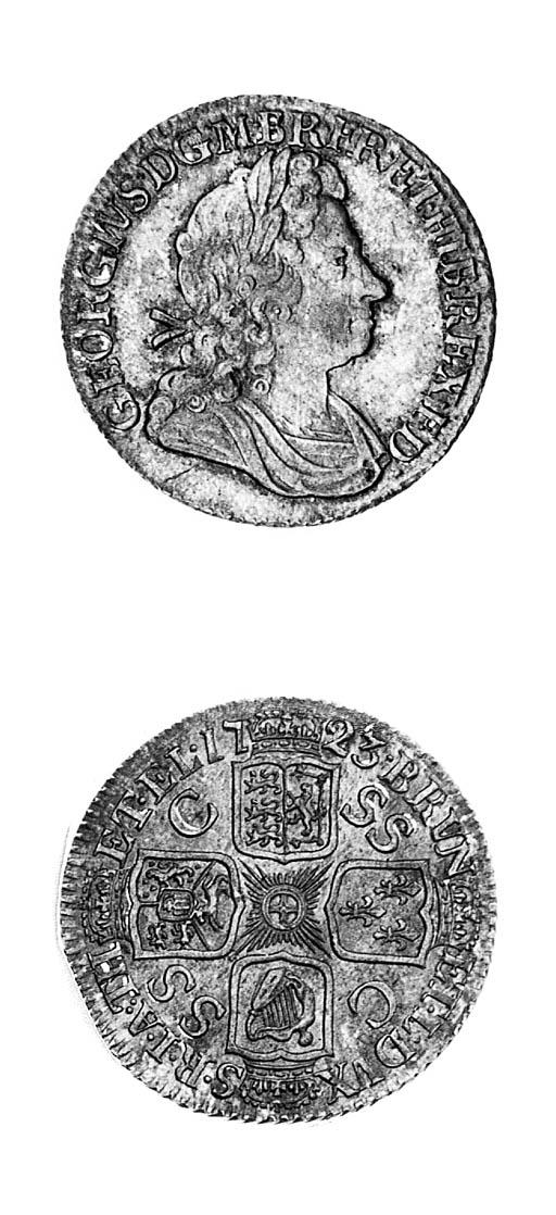 George I, Shilling, 1723 SSC,