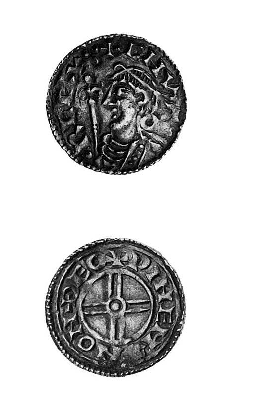 Cnut, short cross type Pennies