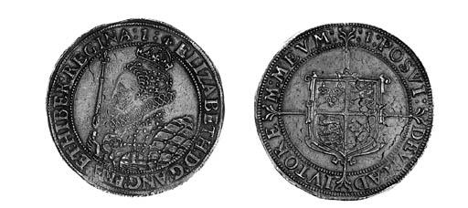 Elizabeth I, Crown, i.m. 1 (16