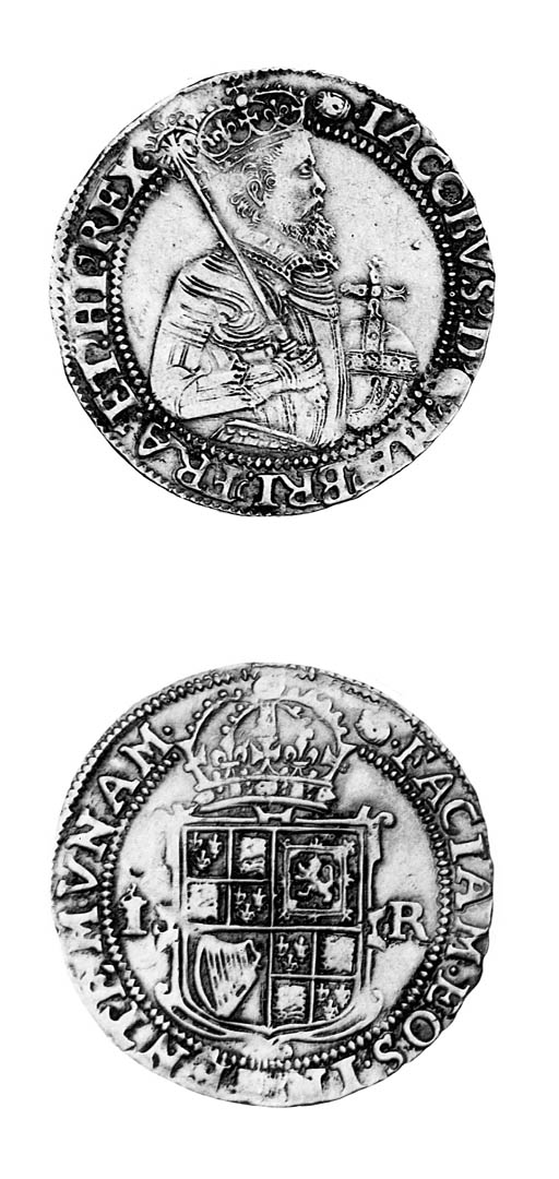 James I (1603-25), Unite, 9.88