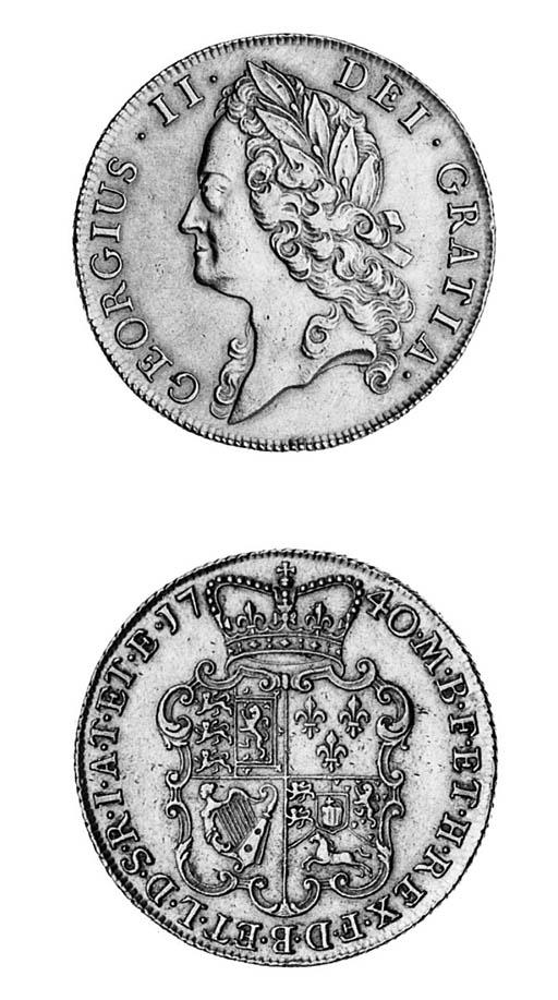 George II (1727-60), 2-guineas