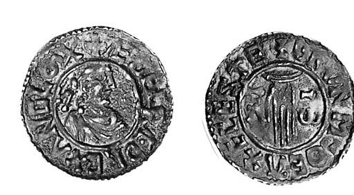 Aethelred II, Penny, 1.49g., f