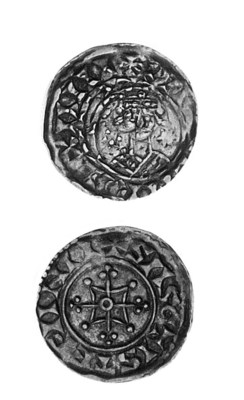 William I, Penny, 1.35g., two