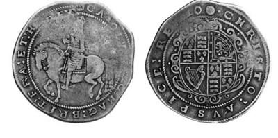Charles I (1625-49), Crown, Tr