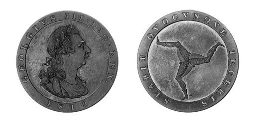 Proof penny, 1798, similar (Pr