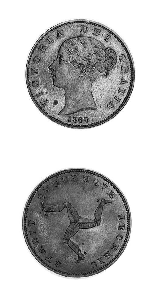 Victoria, Pattern Halfpenny, 1