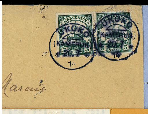 cover 1914 (20 July) envelope
