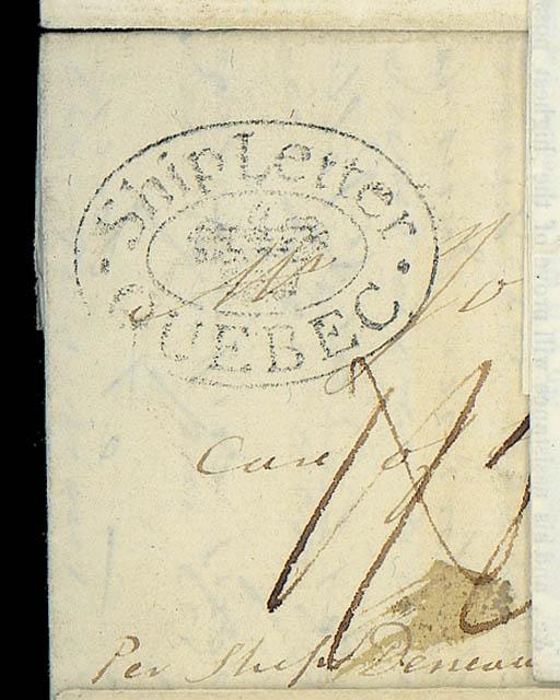 cover 1801 (13 Nov.) entire le