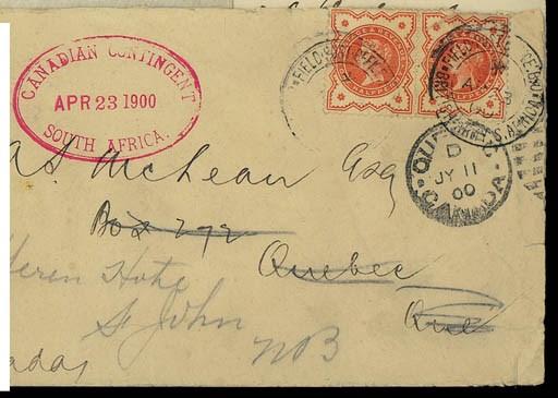 cover 1900 (23 Apr.) envelope