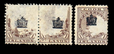 unused  1901 (Oct.) Crown over