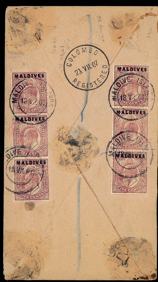 cover 1907 (18 July) envelope