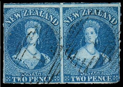 used  -- 2d. deep blue pair wi