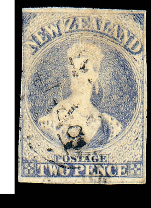 used  -- 2d. ultramarine with
